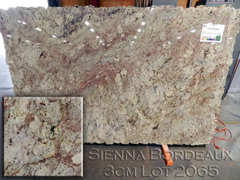 Sienna Bordeaux Granite Goes Great With Cherry Cabinets In My Kitchen