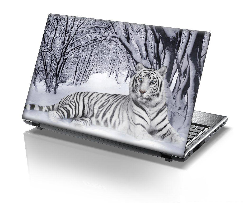 Taylorhe Laptop Skins Pegatina De Vinilo Para Porttil 156 Mouse Wireless No Merk Lenovo Asus Macbook Toshiba Acer Efecto Cuero Diseo Tigre