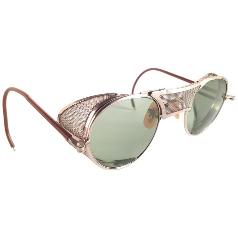New Vintage Bausch & Lomb Goggles Steampunk 1950\'s Collectors Item ...