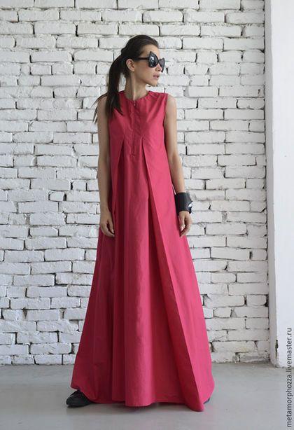8b1aa93bd56b Купить или заказать Платье цвета фуксии в интернет-магазине на Ярмарке  Мастеров. ПЛАТЬЕ by METAMORPHOZA Модное розовое платье - это идеальный  выбор для ...