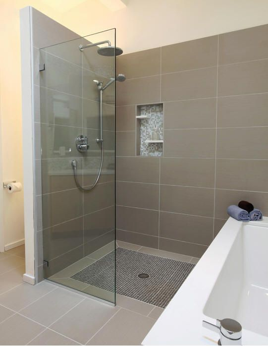 Pros And Cons Of Having A Walk In Shower Modern Master Bathroom