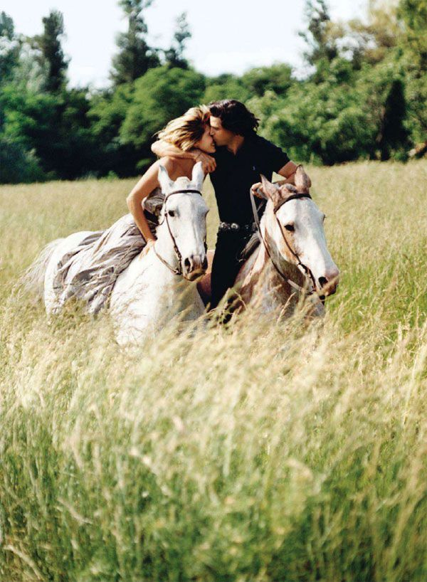 Perfect moments like this - nacho figueras & delfina blaquier}