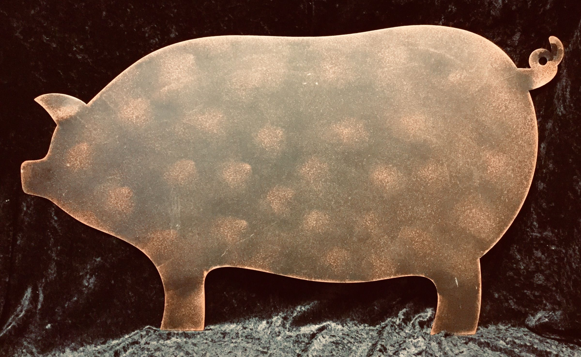 Rust Metal Pig Wall Art Pig Wall Art Furniture Decor Home Decor Furniture