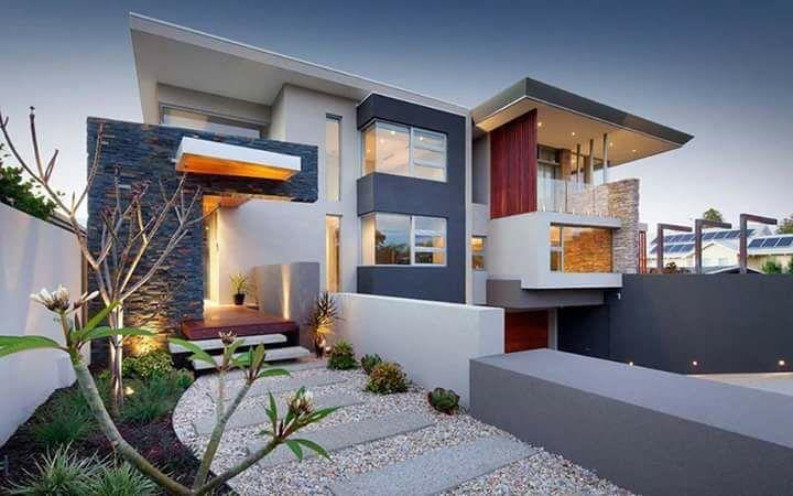Moderne häuser mit terrasse  Pin von Roberto Silva auf Perfil de moradia | Pinterest ...