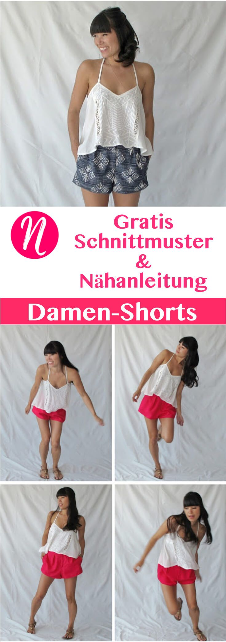 Photo of Fashionable women's shorts – elegant and sporty Sewing talents