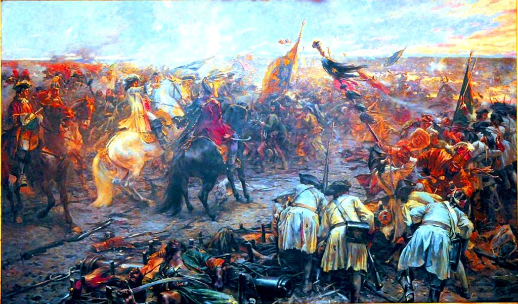 The Great Turkish War - The Battle of Zenta (1697)   Battles