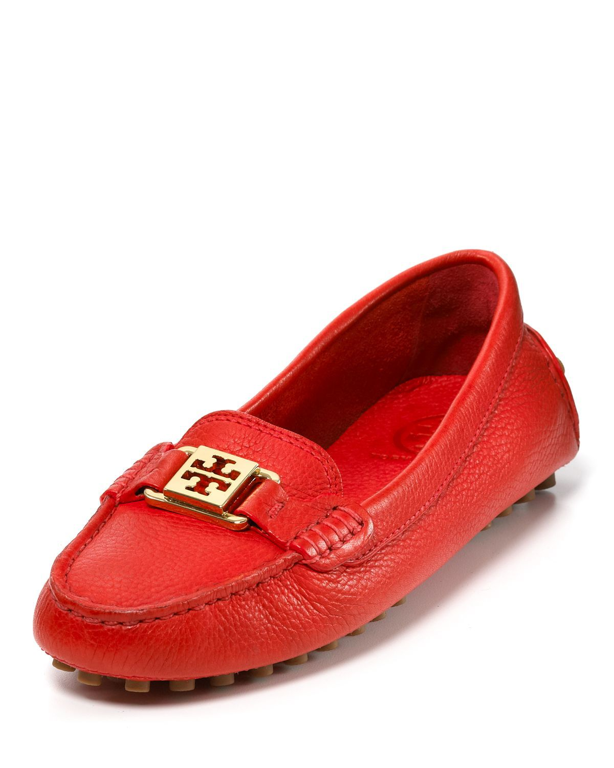 Tory Burch Loafers in Red Volcano