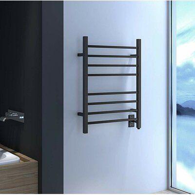 Heatgene Hot Bath Heated Wall Mounted Electric Towel Warmer Wayfair In 2020 Electric Towel Warmer Heated Towel Racks Bathroom Towel Warmer