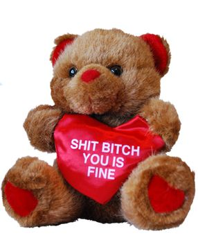 Toll Valentines Day # Teddy Bear