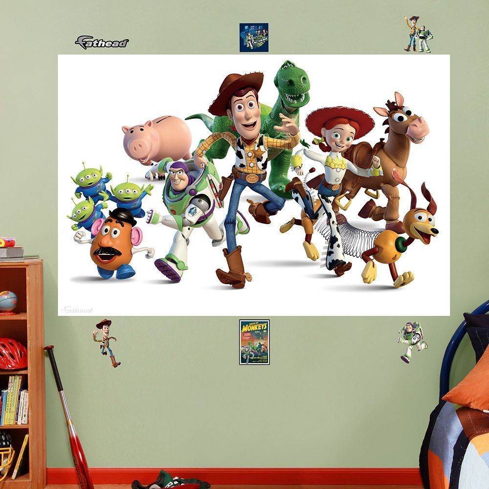 Disney pixar toy story wall decals by fathead multicolor disney pixar toy story wall decals by fathead multicolor amipublicfo Image collections