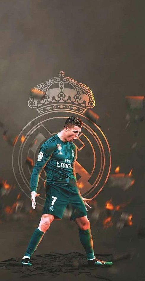 Cristiano Ronaldo Of Real Madrid Wallpaper