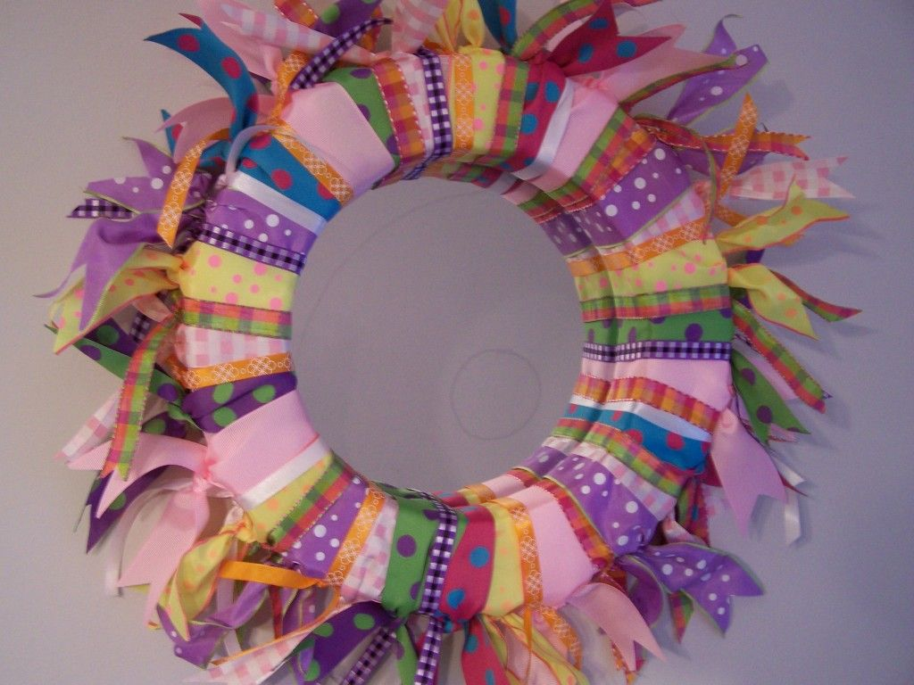 Ribbon Mirror May Arts Wholesale Ribbon Company Ribbon Projects Wreath Forms Diy Craft Projects