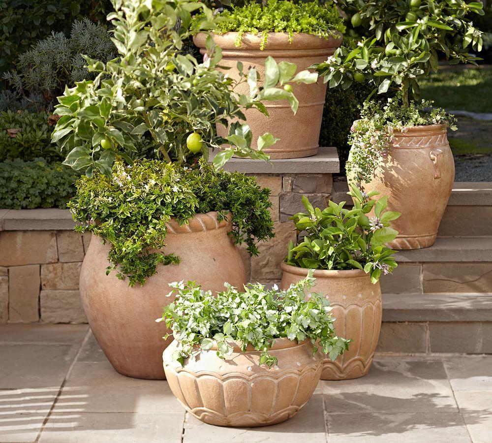 Umbria Planters | Outdoor Decor | Pinterest | Products, Concrete ...