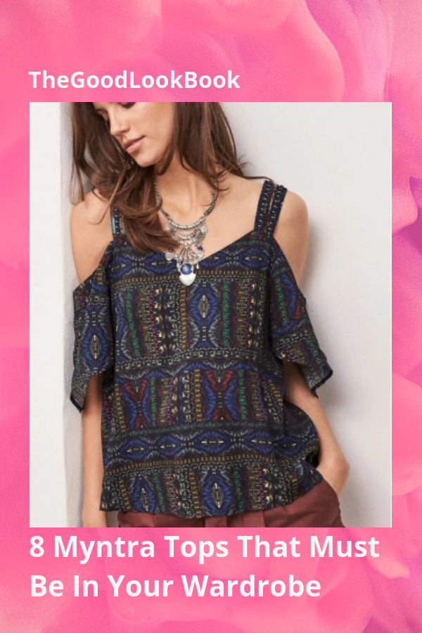 2b24171fd82 ... Good Look Book. 8 Myntra Tops That Must Be In Your Wardrobe  #WomensFashion #IndianWear #WomenClothing #