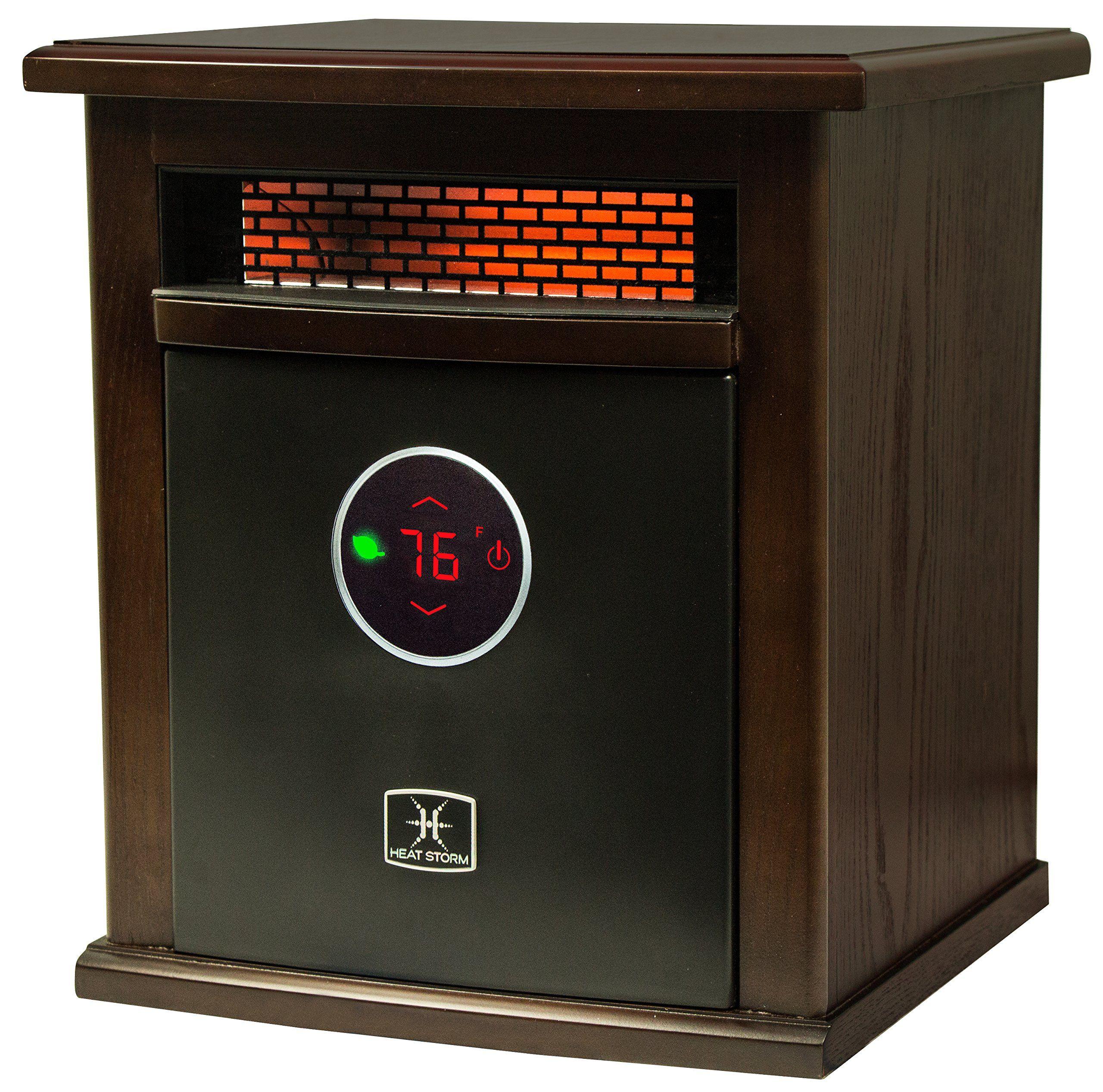 Heat Storm HS1500ILOD Logan Deluxe Indoor Portable