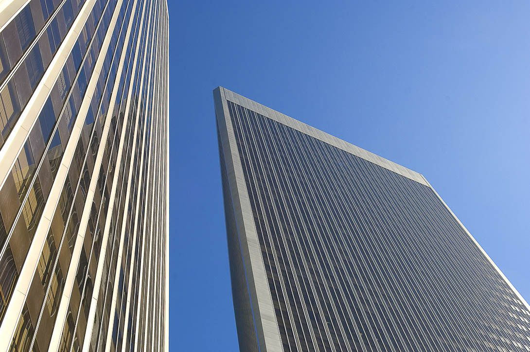 Architecture Photography Los Angeles century towers in century city, ca. architect: i.m. pei