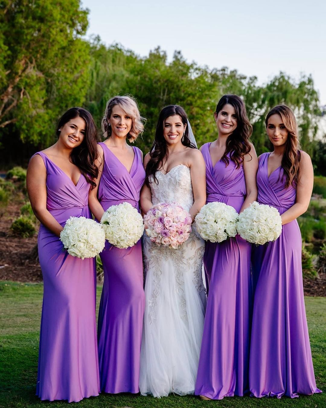Bridgette Dress Wedding Bridesmaid Dresses Purple Bridesmaid