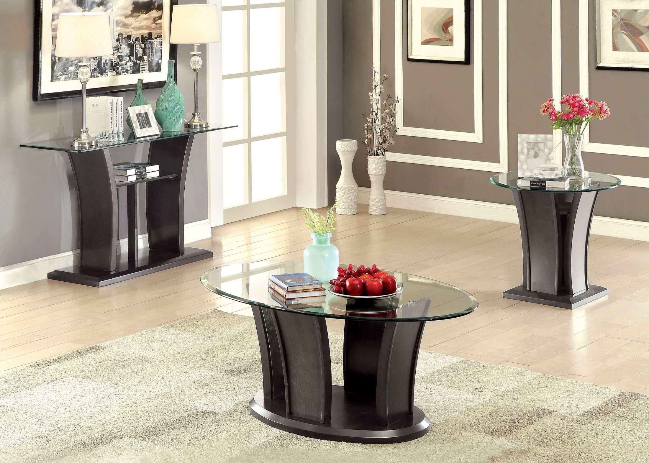 1stopbedrooms Com Coffee Table Setting 3 Piece Coffee Table Set Table Settings [ 1570 x 2200 Pixel ]