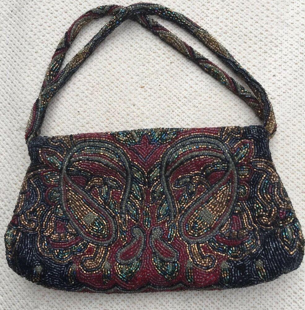 Walborg Vintage Evening purse Hand Made In Japan #Walborg