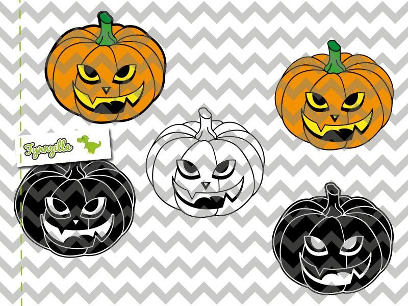 Plotterdatei+Halloween+Kürbis+Fynnzilla+SDL+von+Fynnzilla+auf+ ...