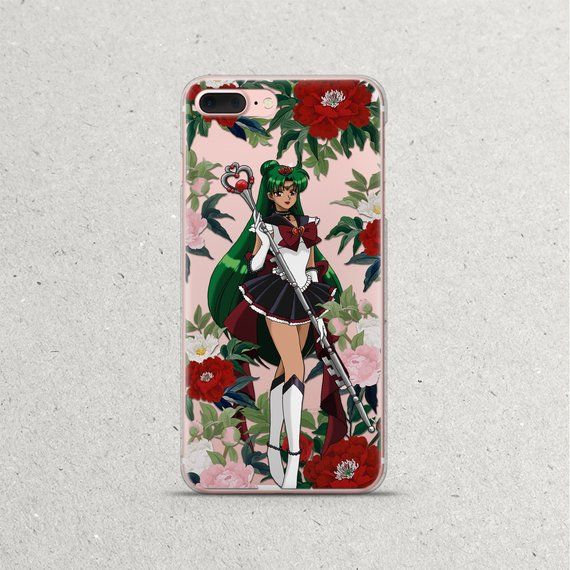 Sailor Moon Pluto Anime iPhone Phone Case for iPhone X 8 7 6s 6 plus case  Manga Gift iPhone 5 5s 5se 67122a308