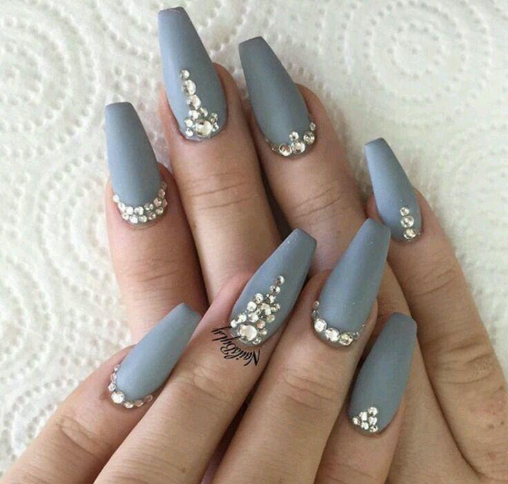 Light grey | manicure & pedicure ♥ | Pinterest | Grey, Lights and ...