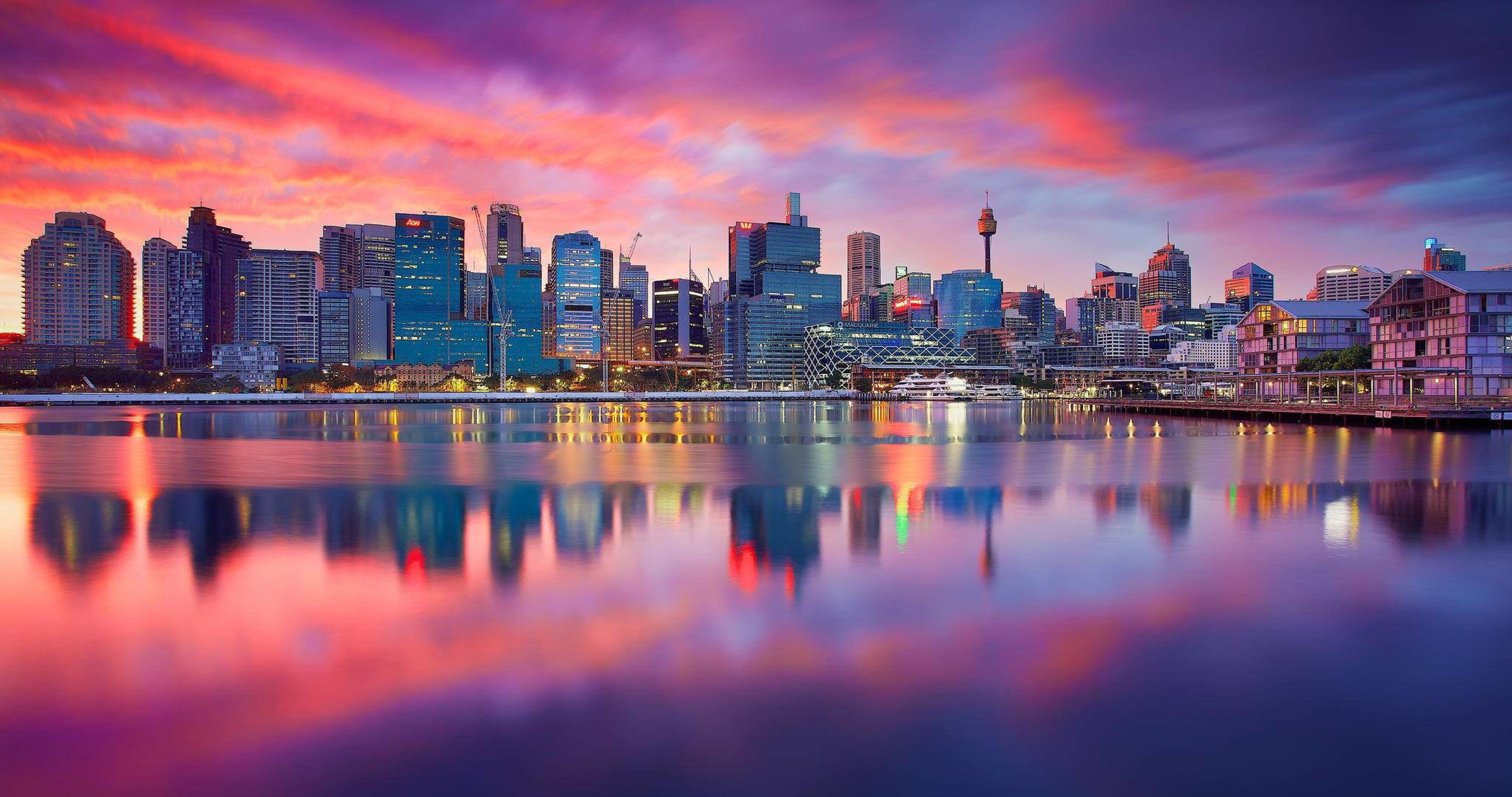 City Sydney Dawn 4k Ultra Hd Wallpaper