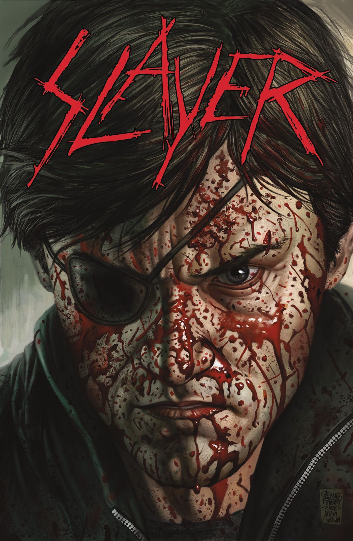 Slayer Repentless #1 (Of 3) Main Fabry Cvr (MR)