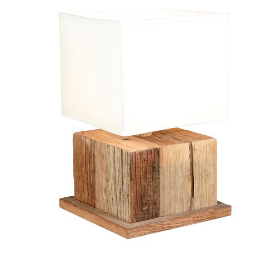 Reclaimed wood table lamp wood table and woods this fabulous reclaimed wood table lamp is an impressive piece that attracts a lot of attention aloadofball Image collections