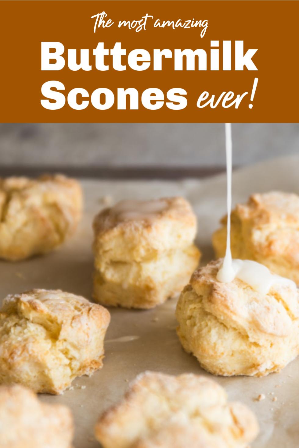 Easy Buttermilk Scones Recipe In 2020 Buttermilk Scone Recipe Buttermilk Recipes Scone Recipe