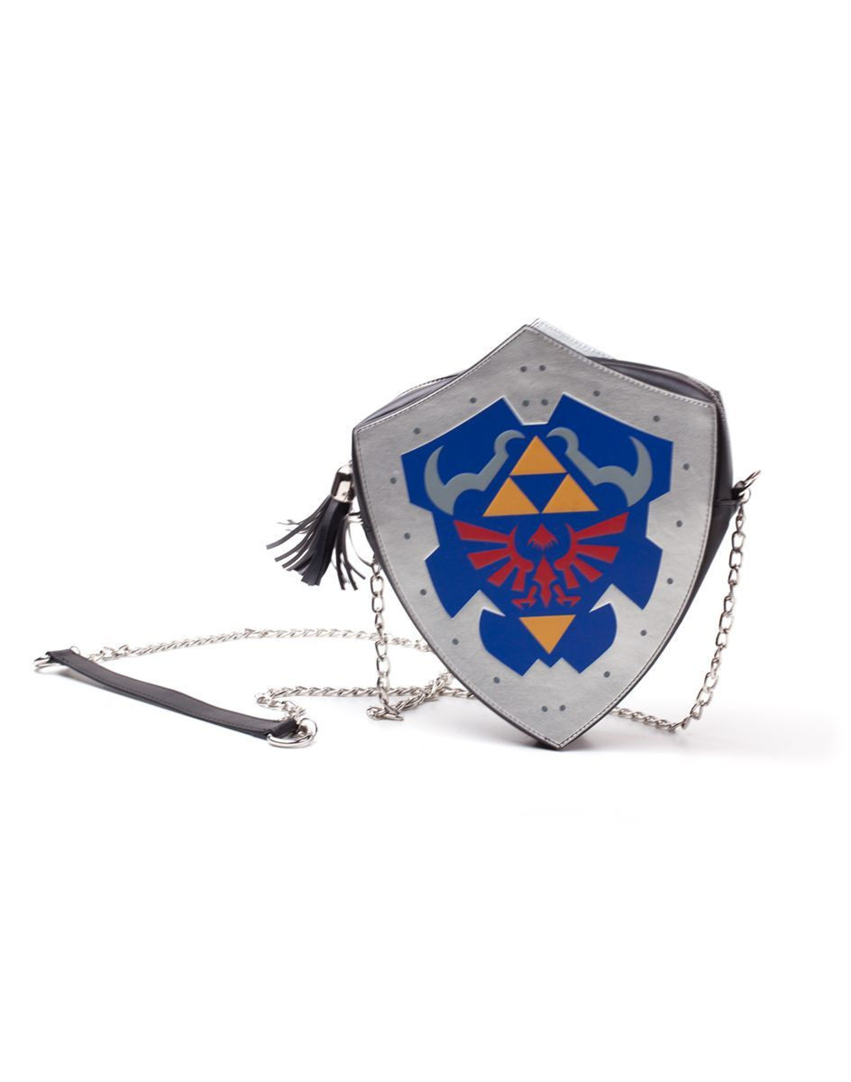 Zelda Zelda Digital Printed Shield PU Ladies Axelväska
