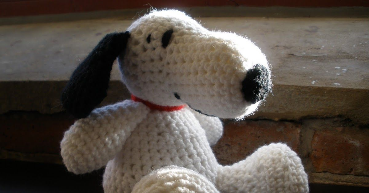 Amigurumi Tutorial Snoopy : Wanting a big of a change from knitting i found the cutest snoopy