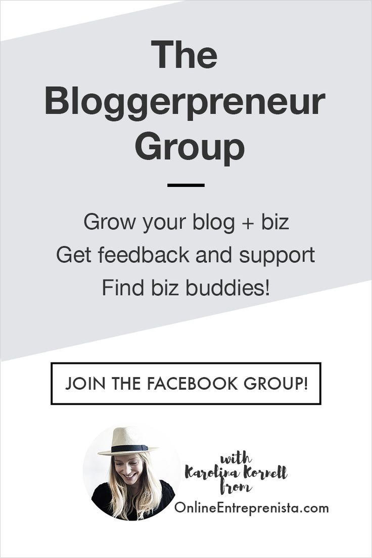 Join The Bloggerpreneur Group Blogging Tips Blog Strategy How To Stay Motivated