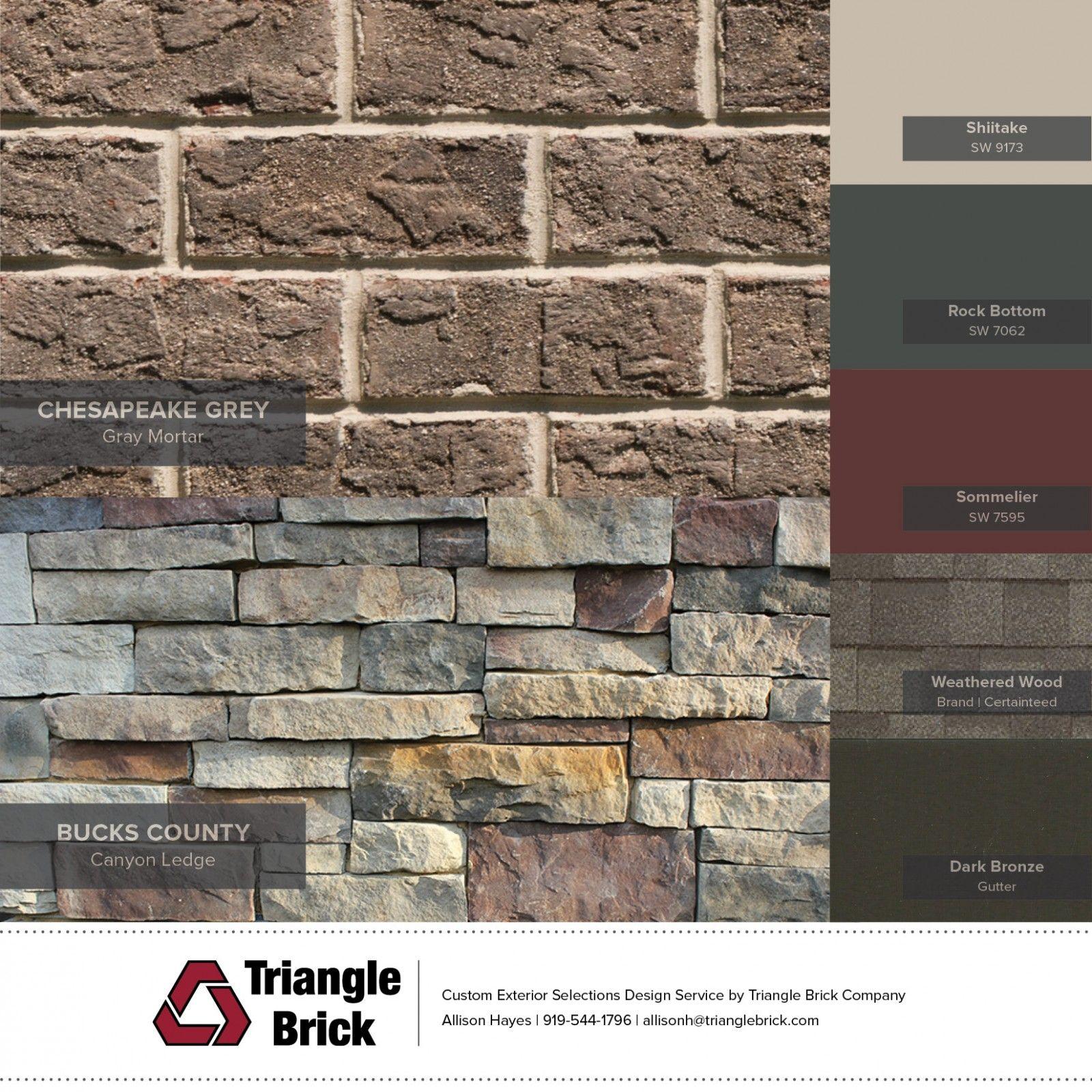 Brick And Stone Pairings Brick House Exterior Colors House Exterior Color Schemes Brick Exterior House