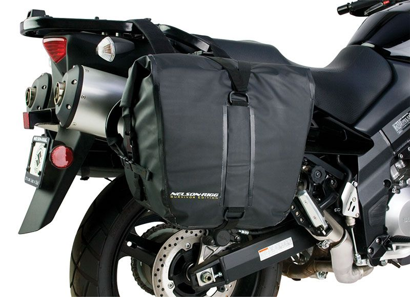 Nelson-Rigg Survivor Motorcycle Dry Saddlebags