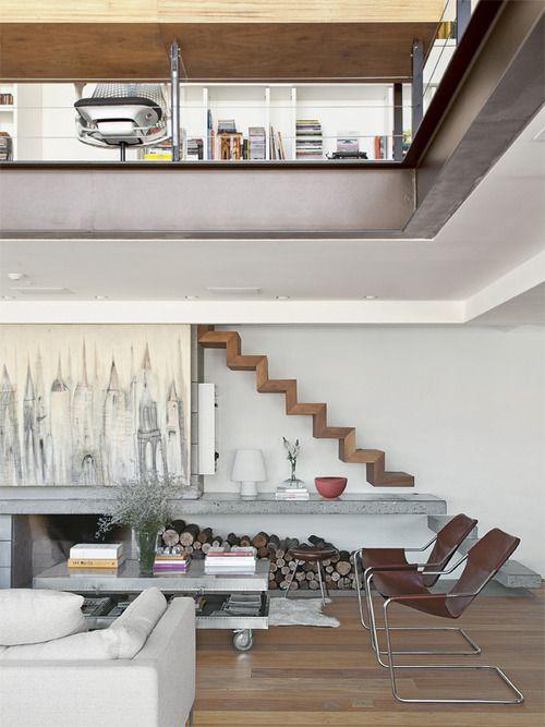Best Porto Alegre Duplex Apartment Design Interior Stairs 400 x 300