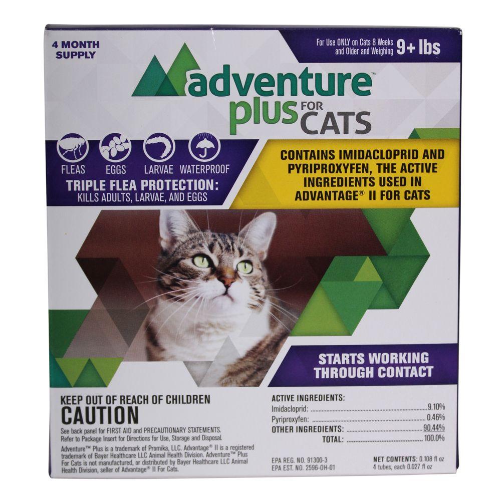 Adventure Plus Flea Control For Cats