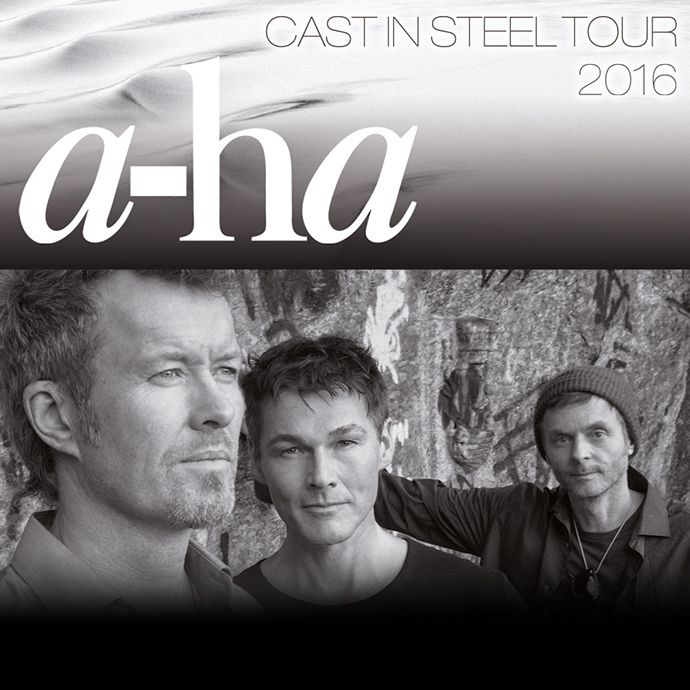 A Ha Cast In Steel Tour 2016 Tickets Unter Www Semmel De It