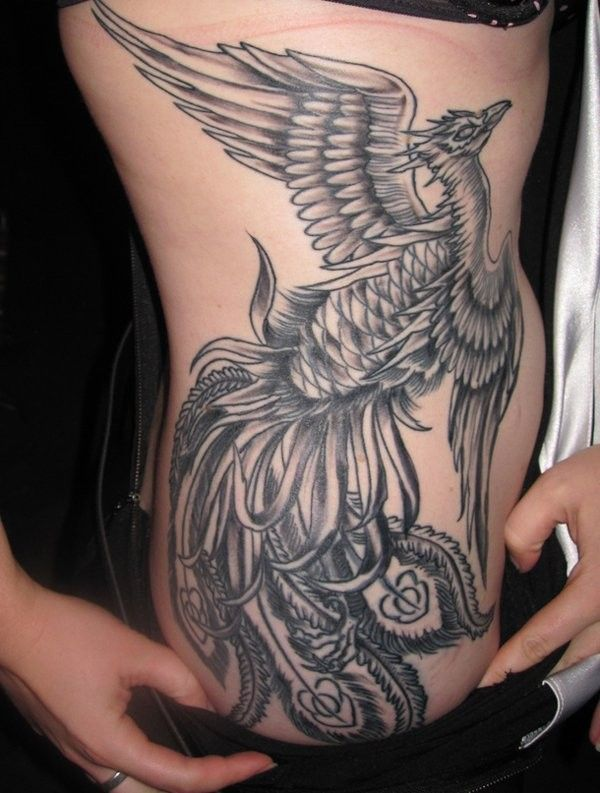 52 Best Phoenix Tattoo Designs With Images Phoenix Tattoo Design Tribal Tattoo Designs Phoenix Tattoo