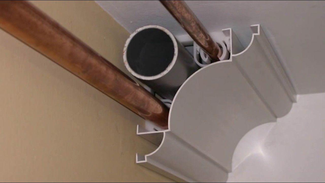 Comment cacher des tuyaux ? - YouTube  Cache tuyau, Tuyau de