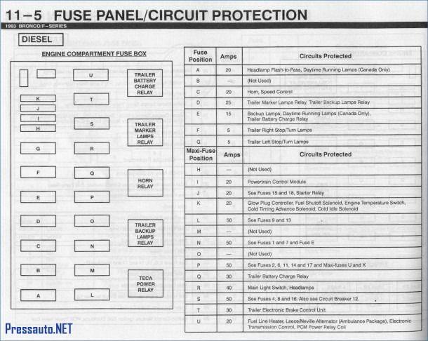 2004 F250 Fuse Diagram