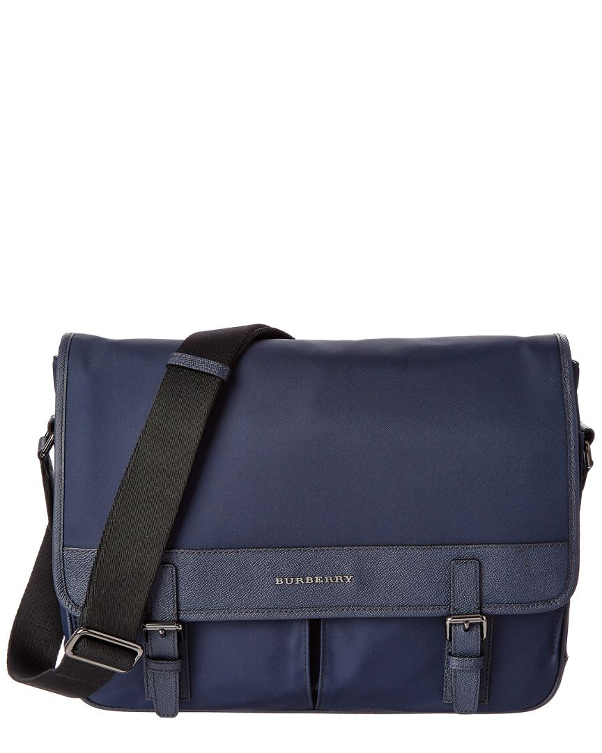 b186c878e54f Burberry Fairbank Leather Trim Messenger Bag is on Rue. Shop it now ...