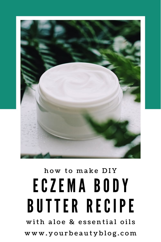 Homemade eczema body butter with aloe vera body butters