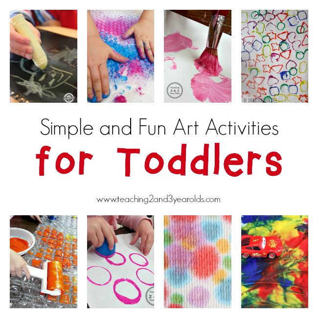Art on Pinterest | 3 Year Olds, Preschool Art and Sponge ...