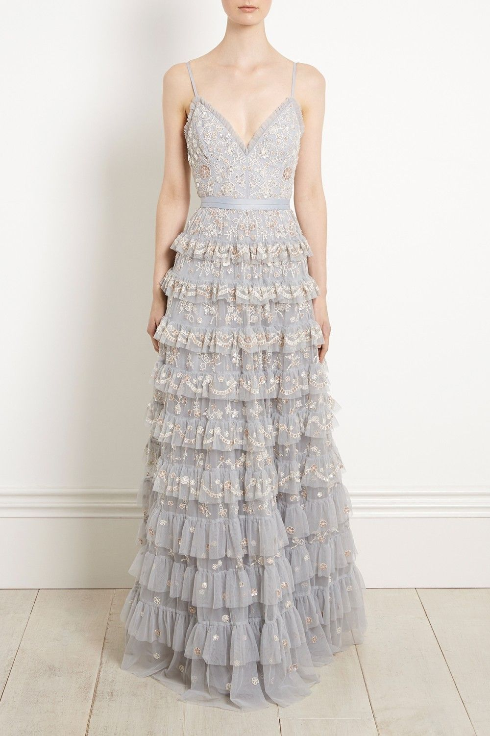 New to bridal prespring the marie gown in antique blue is