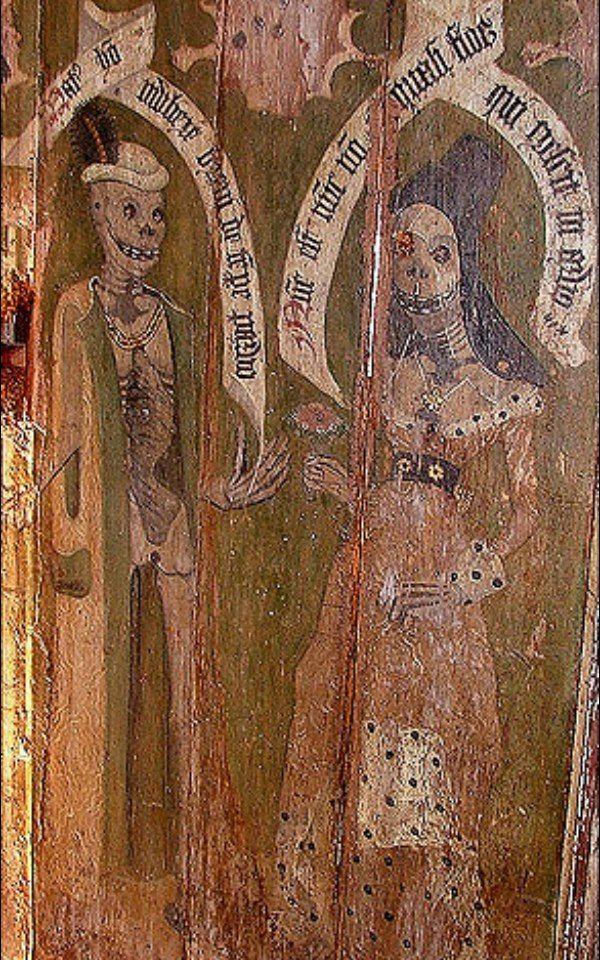 В церкви св. Марии (Спархэм, Норфолк, Великобритания) in ...