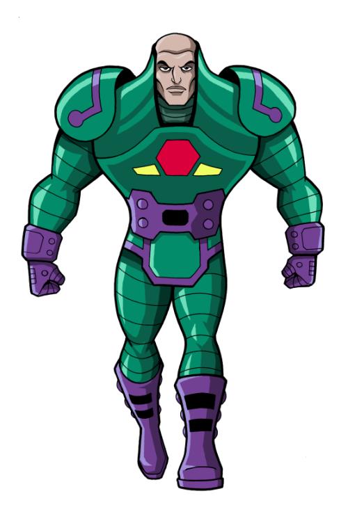 Justice League Villains Lex Luthor Luciano Vecchio Lex Luthor Dc Villains Dc Comics Heroes