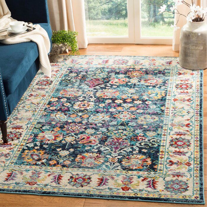 Mcintosh Yellow Re Purple Green Area Rug Polyester Rugs Traditional Area Rugs Safavieh