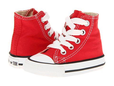 f7266b59f25e Converse Kids Chuck Taylor® All Star® Core Hi (Infant Toddler) Red -  Zappos.com Free Shipping BOTH Ways