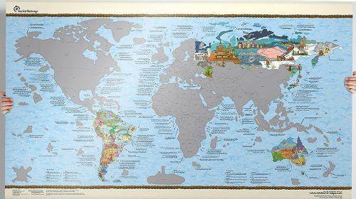 World scratch map bucket list travel map awesome maps httpwww world scratch map bucket list travel map awesome maps http gumiabroncs Choice Image